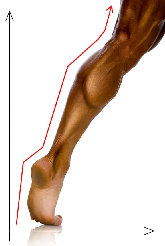 Finally you will strengthen your ankles by improving stability and