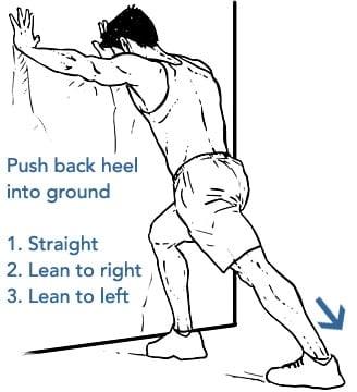 Calf Stretch - How to Stretch the Calves