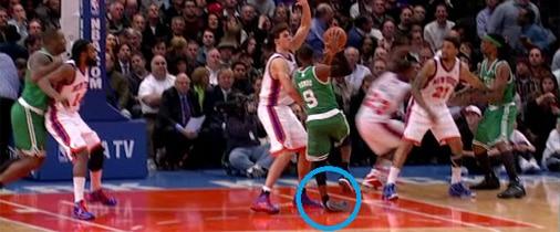 Sprained Ankle Basketball