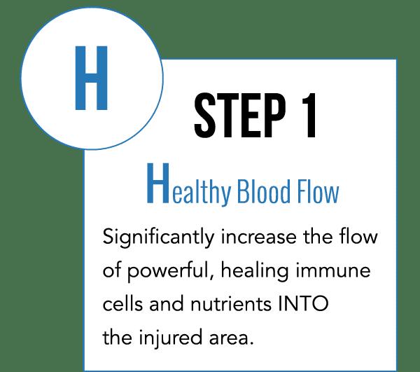Step 1 - Healthy Blod Flow